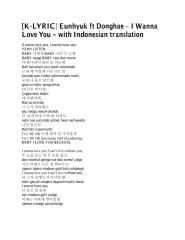 Eunhyuk ft Donghae – I Wanna Love You.pdf