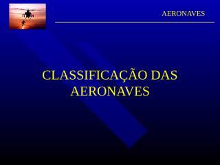 L-classificação de aeronaves.ppt