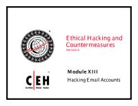 CEHv6 Module 13 Hacking Email Accounts.pdf