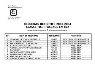 RESULTAT DEFINITIF DES EXAMENS TR2.doc