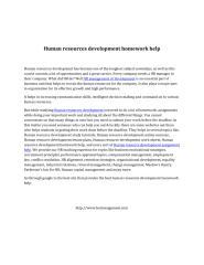 Human resources development homework help(1).pdf