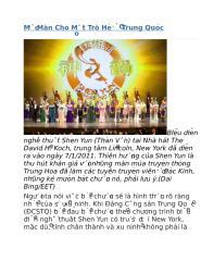 Mở Màn Cho Một Trò Hề Ở Trung Quốc.docx