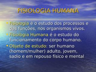 Liquidos corporais Enfermagem 2010.ppt