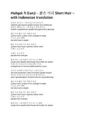 Huhgak ft Eunji – 짧은 머리 Short Hair.pdf