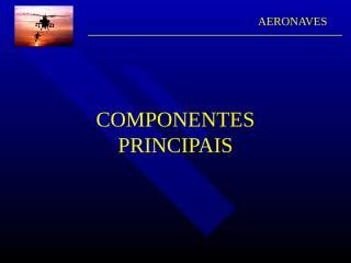 O-componentes principais.ppt