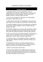 Informativo Mundial das Missões - 19 12 09 - Texto.doc