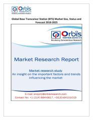 Global Base Transceiver Station (BTS) Market Size, Status and Forecast 2018-2025.pdf