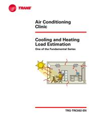 02 - Cooling and Heating Load Estimation - Trane Air Conditioning Clinic.pdf