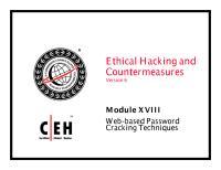CEHv6 Module 18 Web based Password Cracking Techniques.pdf