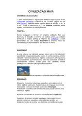 CIVILIZAÇÕES PRÉ-COLOMBIANAS.doc