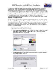CDOTConverting AutoCAD Files to MicroStation.pdf