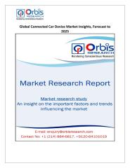 Global Connected Car Device Market Insights, Forecast to 2025.pdf