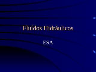 fluidos hidraulicos.ppt