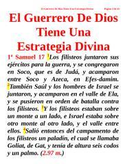 El Guerrero De Dios Tiene Una Estrategia Divina.doc