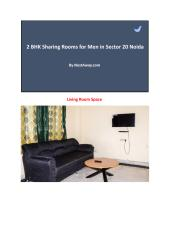 Sharing Room for men in Sector 20 Noida 3135.pdf