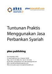 tuntunan praktis menggunakan jasa perbankan syariah.pdf