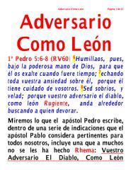 Adversario como león.pdf