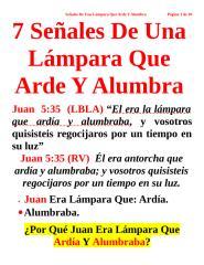 7 Señales De Una Lámpara Que Arde Y Alumbra.doc