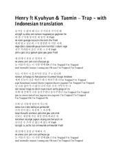 Henry ft Kyuhyun & Taemin – Trap.pdf