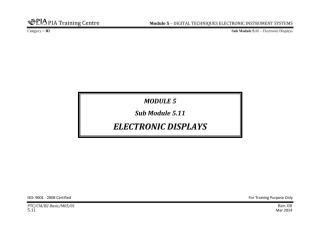 B2 Module 5 (Digital Techniques & Electronic Instrument System) Sub Module 5.11 (Electronic Disp) Rev 00.pdf