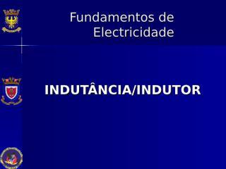 Indutância Indutor.ppt