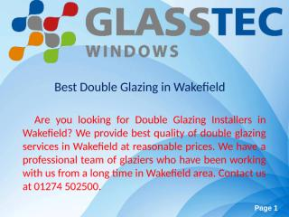 Best Double Glazing in Wakefield1 (1).ppt
