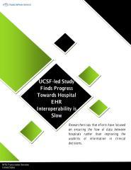UCSF-led Study Finds Progress Towards Hospital EHR Interoperability is Slow.pdf